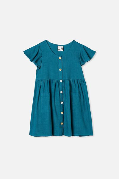 Vanessa Short Sleeve Dress, JADE JEWEL