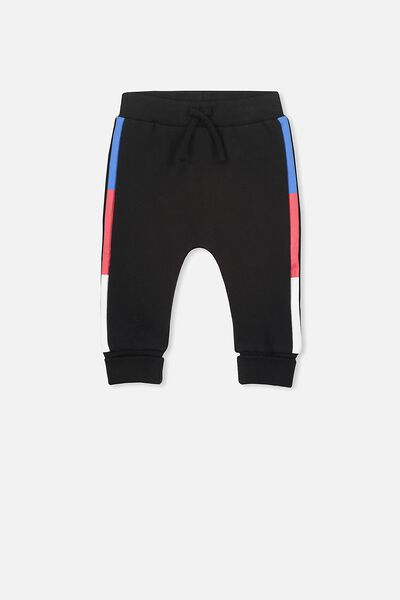 Shelby Trackpant, BLACK