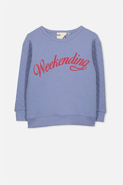 Sage Crew, COUNTRY BLUE WEEKENDING/SET IN SLEEVE