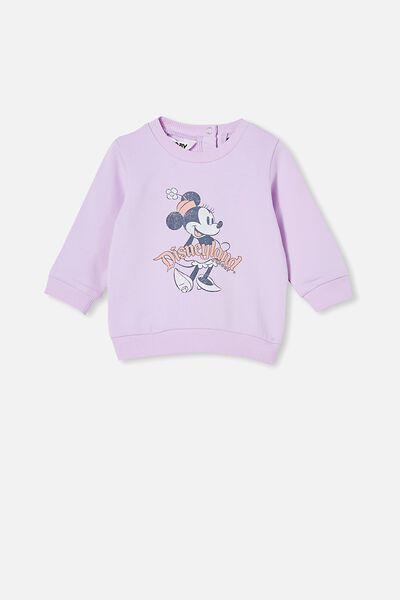 Bobbi Sweater Lcn, LCN DIS PALE VIOLET/DISNEYLAND VINTAGE MINNIE