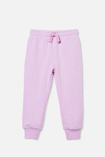 Marlo Trackpant, PALE VIOLET FLOWERS