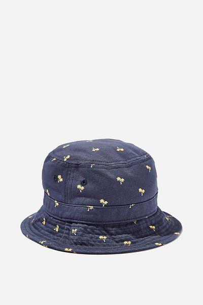 Kids Bucket Hat, PALM TREE