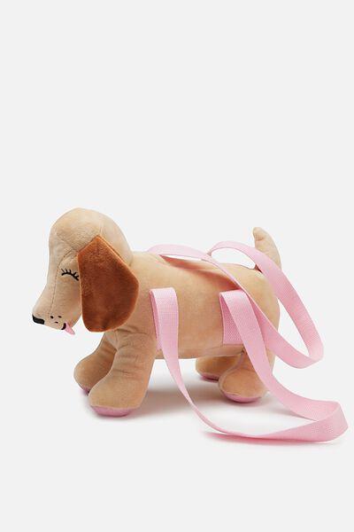 Plush Animal Bag, PUPPY