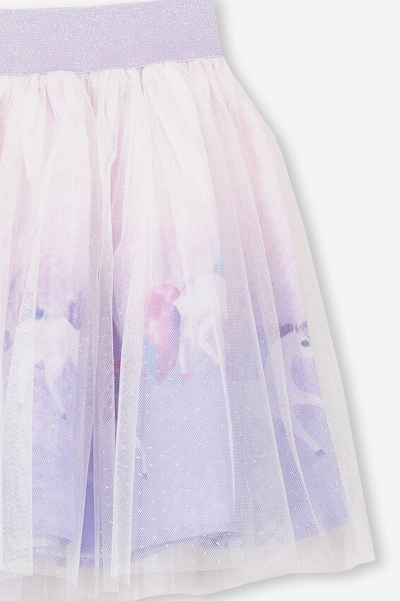 Trixiebelle Tulle Skirt, VANILLA/PAINTED UNICORN