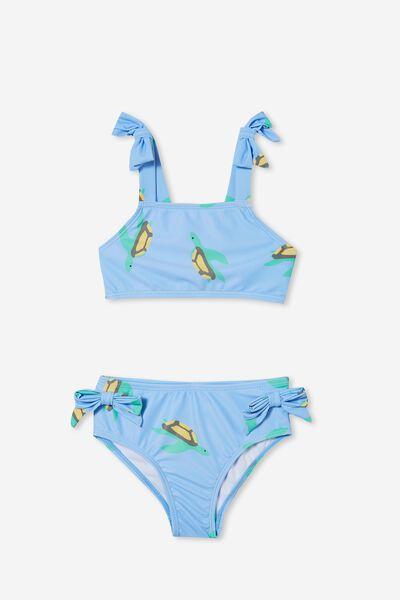 Andie Tie Bikini, DUSK BLUE/TURTLES