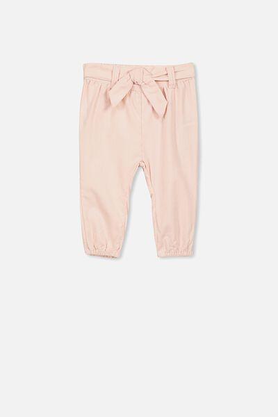 Allie Bow Tie Pant, ESSENTIAL PINK