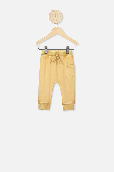 Zac Trackpant, VINTAGE HONEY