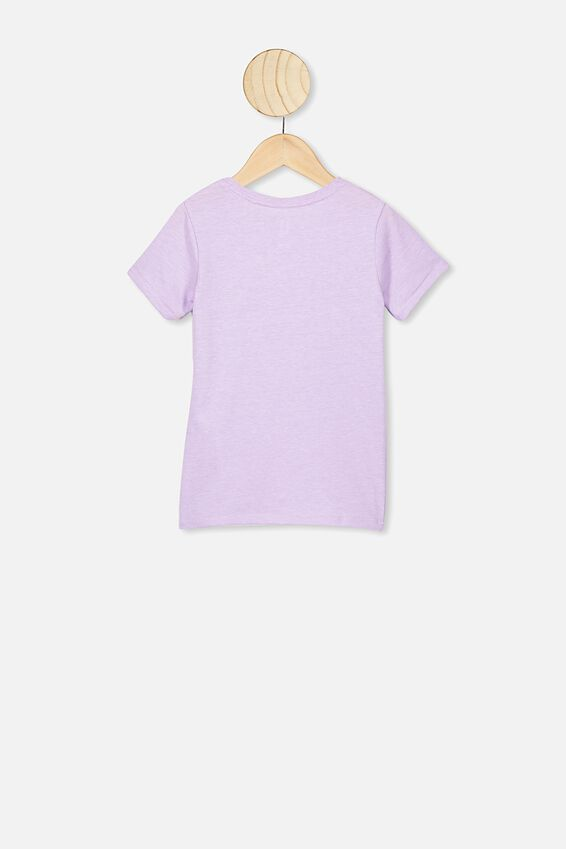 Core Ss Tee, VINTAGE LILAC MARLE