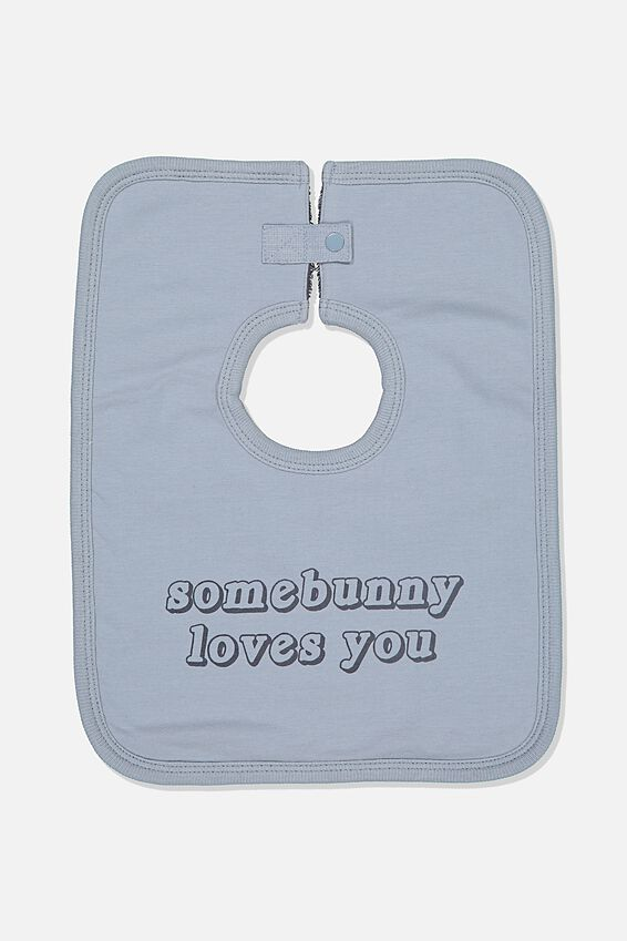 The Everyday Bib, RAIN CLOUD/SOME BUNNY LOVES YOU