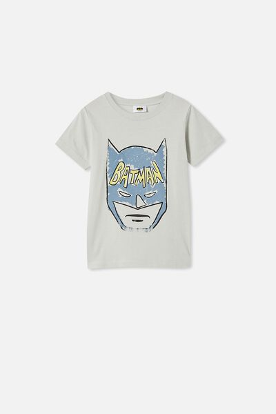 Short Sleeve License1 Tee, LCN WB WINTER GREY/BATMAN