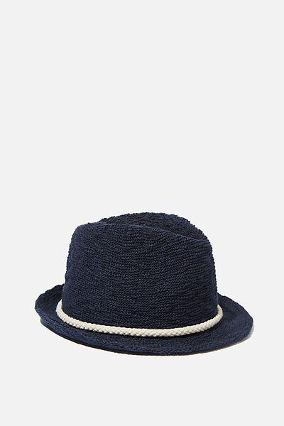 Trilby Hat, NAVY