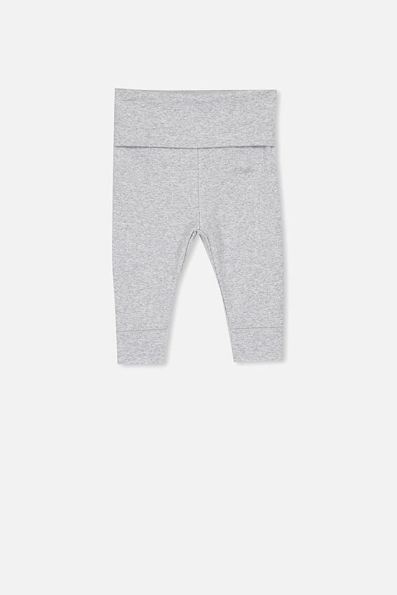 Newborn Essentials Legging, CLOUD MARLE
