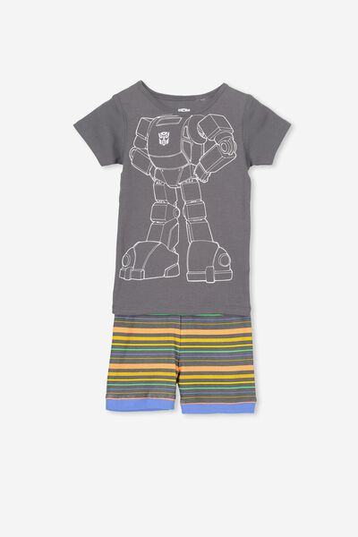 Joshua Short Sleeve Pyjama Set, LCN I AM OPTIMUS PRIME