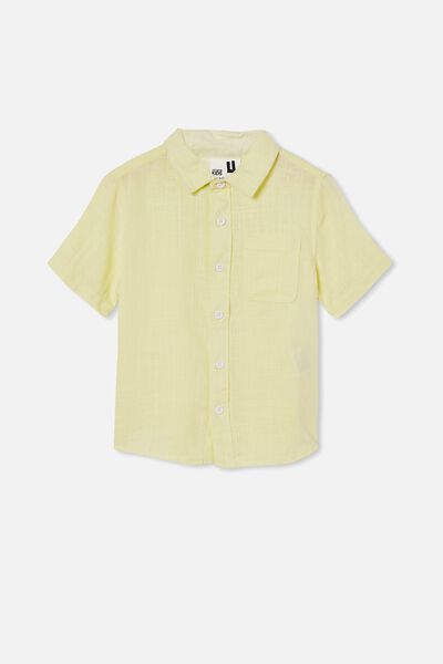 Resort Short Sleeve Shirt, LEMONADE