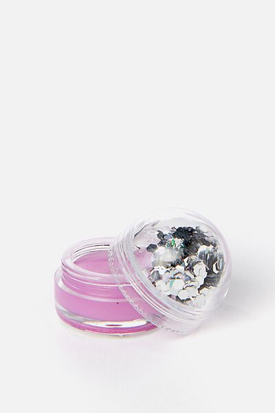 My Glitter Dome Lip Balm, GRAPE