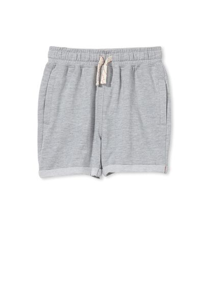Henry Slouch Short, LIGHT GREY MARLE