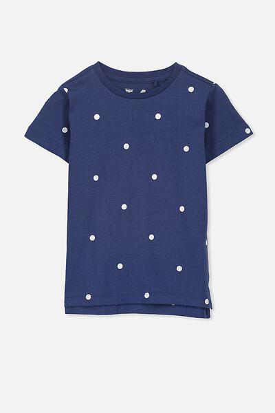 Max Short Sleeve Tee, CAPTAIN BLUE/DOT SIS