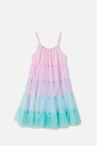 Iggy Dress Up Dress, UNICORN RAINBOW