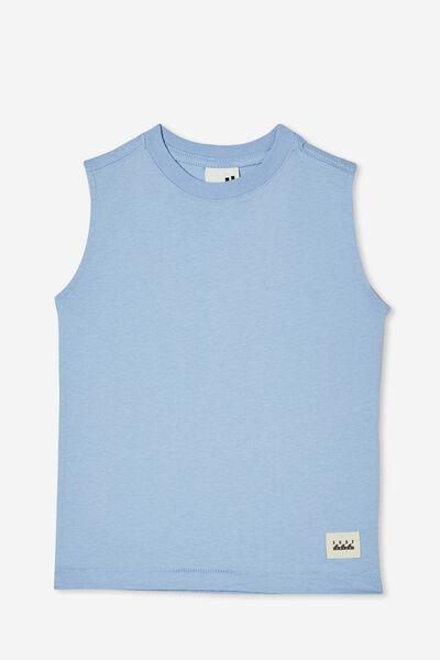 Otis Muscle Tank, DUSK BLUE