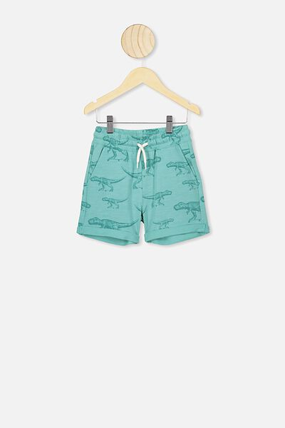 Henry Slouch Short, BALTIC SEA/SKATE DINO