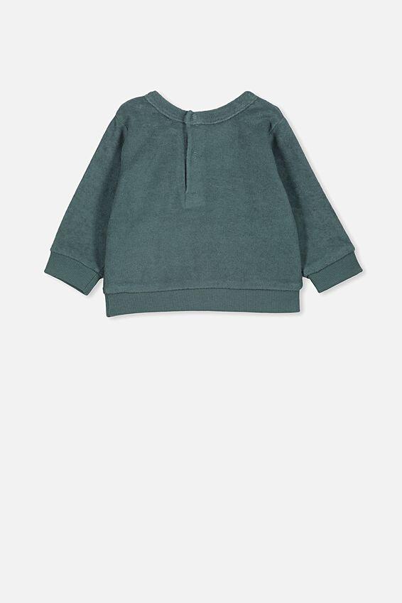 Billie Sweater, DEEP POOL BLUE
