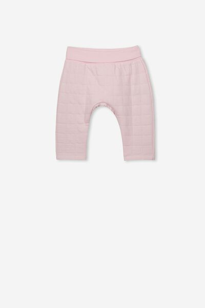 Rory Quilted Trackpant, CRYSTAL PINK