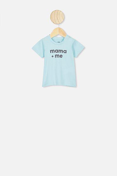Jamie Short Sleeve Tee, DREAM BLUE/MAMA & ME
