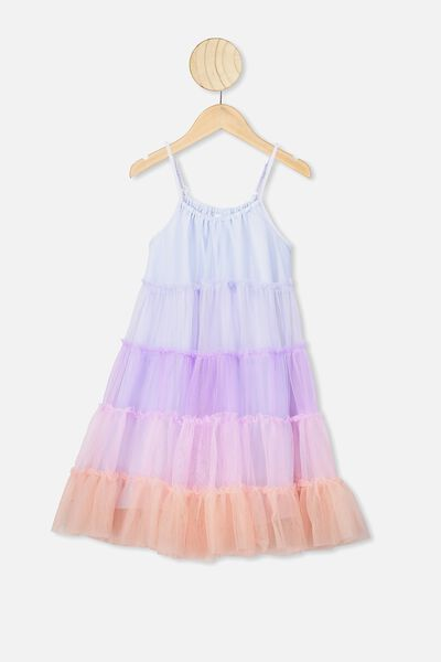Iggy Dress Up Dress, MYSTIC RAINBOW