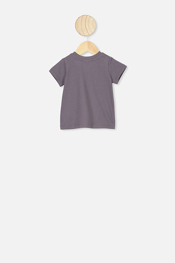 Jamie Short Sleeve Tee, LCN MAY RABBIT GREY SNUGGLEPOT
