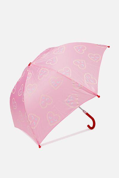 Umbrella Colour Change, PINK HEART