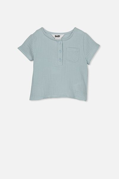 Tate Short Sleeve Shirt, EHTER