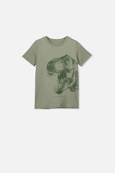 Max Short Sleeve Tee, SILVER SAGE/T REX