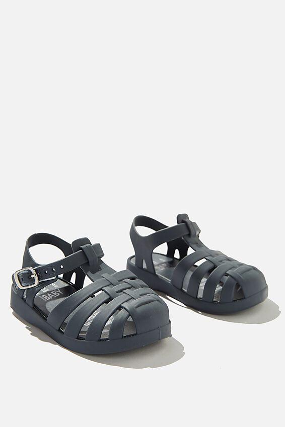 Mini Amalfi Jelly Sandal, VINTAGE NAVY