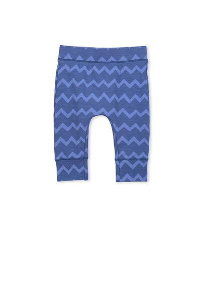 Mini Legging, WATERBLUE/OSAKA ZIG ZAG