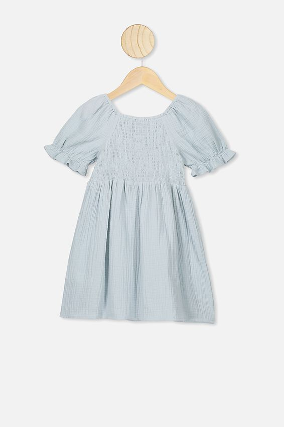 Lillie Short Sleeve Dress, ETHER