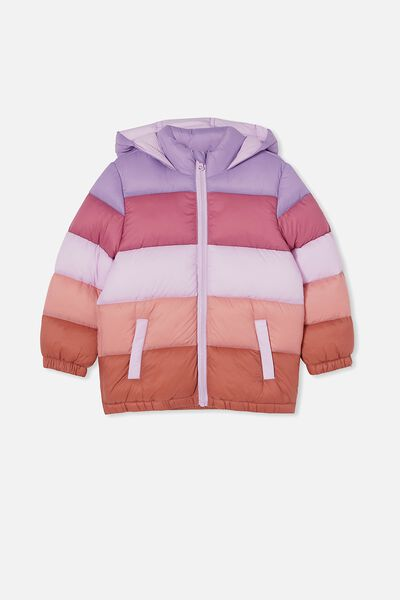 Frankie Puffer Jacket, TULIP SPLICE
