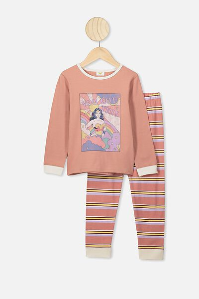 Florence Long Sleeve Pj Set, LCN WB CLAY PIGEON/WW YOU GOT THIS