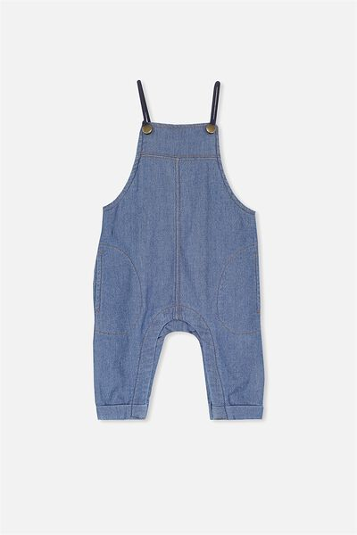 Robby Overall, BLUE DENIM