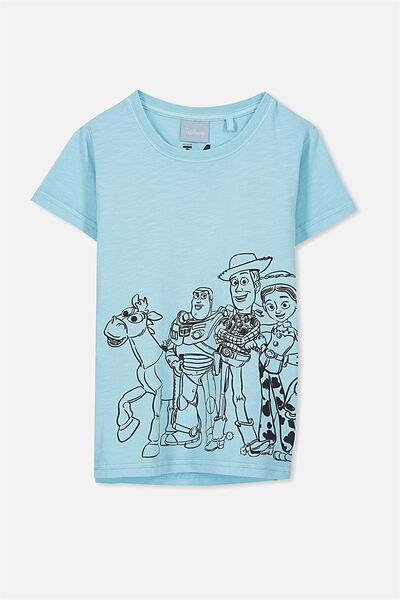 Short Sleeve Licence1 Tee, MORRIS BLUE/TOY STORY