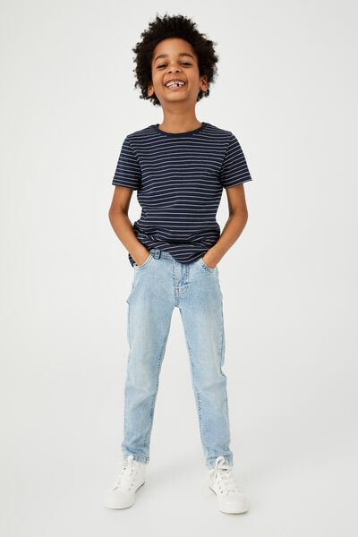 Slim Fit Jean, BELLS LIGHT BLUE CLEAN