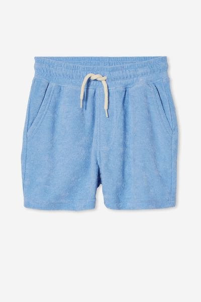 Henry Slouch Short 80/20, DUSK BLUE/TERRY TOWELLING