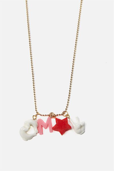 Fashion Pendant Necklace, MICKEY