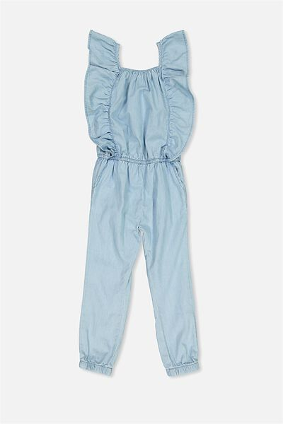 Kieri Long Jumpsuit, WASH CHAMBRAY
