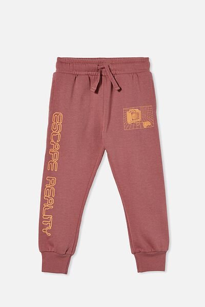 Marlo Trackpant, VINTAGE BERRY/VR GAMING