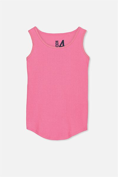 Brooke Singlet, POWER PINK