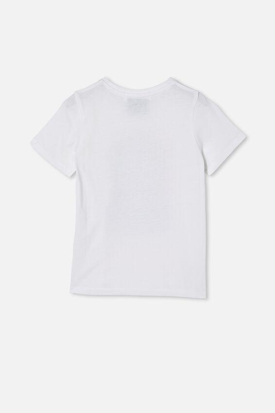 Biggie Short Sleeve Tee, LCN MT BIGGIE SMALLS PINK/WHITE
