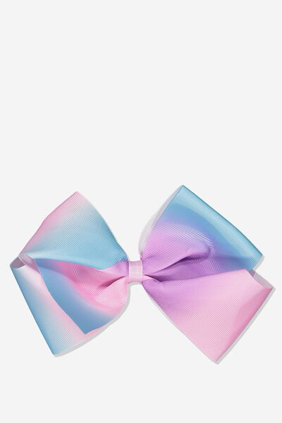 Statement Bows, PINK/BLUE OMBRE