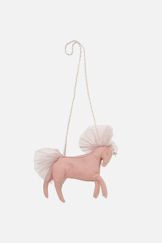 Lux Unicorn Jayme Critter Bag, PINK UNICORN