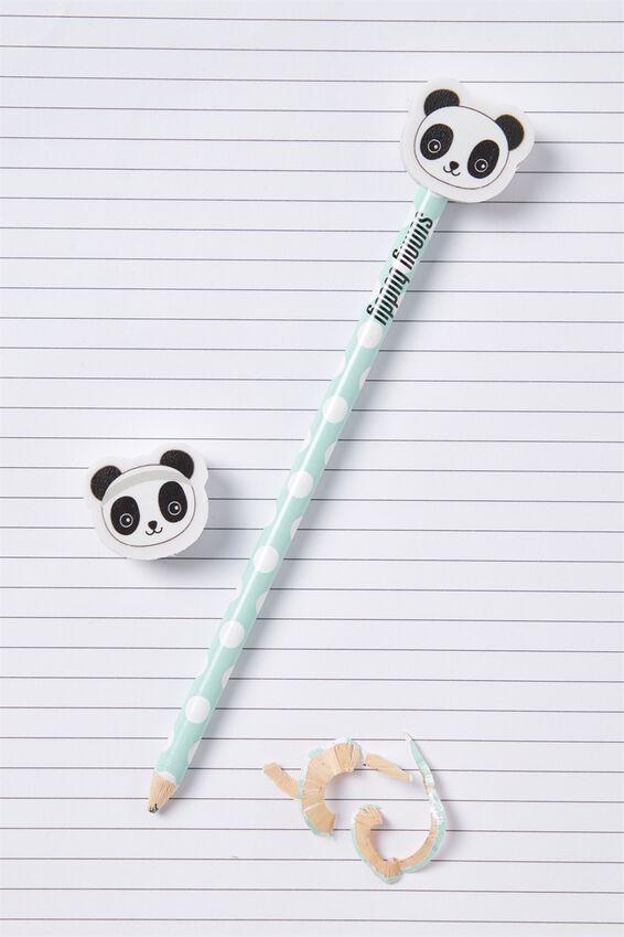 Sunny Buddy Pencil With Eraser, OLI