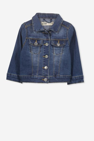 Jules Denim Jacket, DENIM WASH